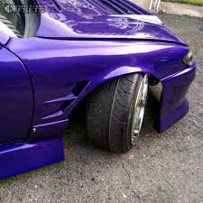 custom nissan 240sx wheel offset 1995 nissan 240sx nearly flush coilovers