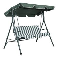 outdoor swing bench with canopy bench decoration