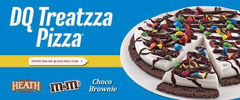 dairy queen halloween cakes dairy queen treatzza pizza order online milwaukee pickup
