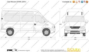 opel movano the blueprints com vector drawing opel movano mwb