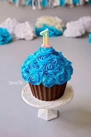 phanessa u0027s crafts diy giant cupcake smash cake cakes