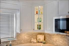 Tumbled Marble Backsplash White Cabinets With Granite Cabinet - Backsplash materials