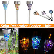Solar Stake Garden Lights - solar stake lights outdoor part 37 3led 4led flower solar