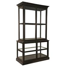 Black Display Cabinet With Glass Doors by Black Glass Display Cabinet Home Design Ideas