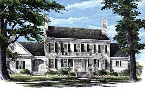 colonial home plan with 2 master suites 32463wp architectural