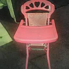 High Chairs At Babies R Us Best Toys R Us Pink Baby Doll High Chair In Excellent Condition
