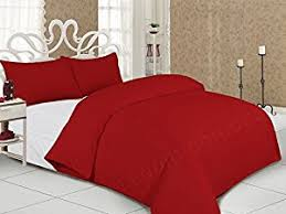 hachette 3pc ls kenzie red king size bedding bed duvet cover