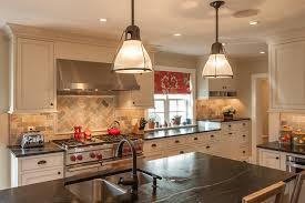 Slate Backsplash In Kitchen by Slate Backsplash Tile Kitchen Eclectic With Backsplash Counter