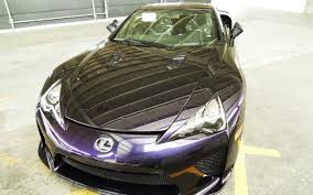 lexus lfa torque black amethyst lexus lfa one off shown on facebook