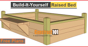 raised bed plans lots of designs construct101