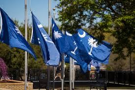 States Flags Flags At Half Staff At Bob Jones University Bju Public Relations