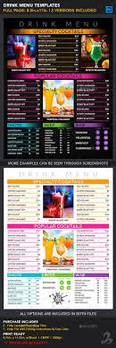 photoshop menu template 98 best cafe menu images on food menu design