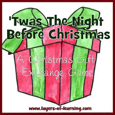 twas the night before christmas family night layers of learning