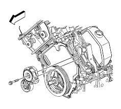 repair instructions on vehicle drive belt tensioner