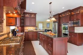 Kitchen Cabinets New Brunswick Dark Cherry Kitchen Perfection Wall New Jersey By Design Line Kitchens