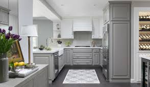 two tone kitchen cabinets white and grey a kitchen lightens up with two tone cabinets