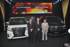 made for malaysia toyota alphard u0026 vellfire mpvs launched