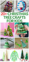 look at these 20 kids christmas tree crafts so fun and easy