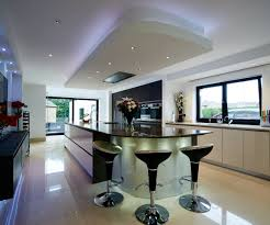 contemporary kitchen island with stools u2013 transform architects