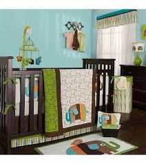 Green Elephant Crib Bedding Kidsline Zutano Elephants 4 Crib Bedding Set