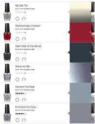opi gray color names opi fifty shades of grey swatches review all