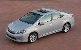 lexus hs 250h hybrid mpg lexus hs 250h canceled in response to poor sales