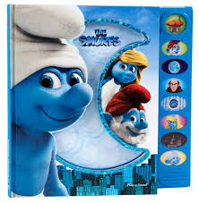 smurfs sound book