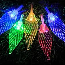 10m 100 led tree leaves led lamp string lights decorative lights