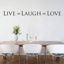 live laugh love u0027 wall sticker by nutmeg notonthehighstreet com