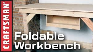 garage workbench plans for fold down garage workbenchbuilding