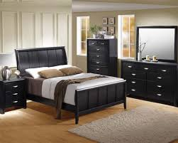 Cal King Bedroom Furniture Bedroom Black Bedroom Set Hailee By Acme Furniture Black