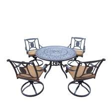 Cast Iron Patio Dining Set - waterproof patio dining sets patio dining furniture the home