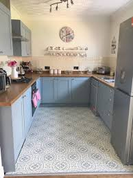 painting kitchen cabinets frenchic how a transformed kitchen for 144 using a clever