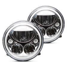 jeep black headlights vision x 7