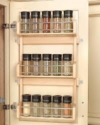 kitchen cabinet spice racks door mount spice racks for kitchen cabinets cabinet doors