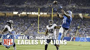 philadelphia eagles thanksgiving day games eagles vs lions week 12 highlights nfl youtube