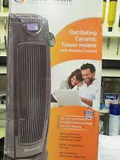 Comfort Zone Heater Fan Comfort Zone Cz499r Oscillating Heater Tower With Remote Ebay
