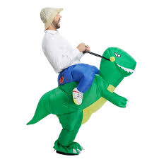 halloween inflatable child costume kids party dinosaur