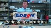 Edson Pedestal Guard Edson Pedestal Guards Youtube