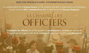 la chambre des officiers séance débat la chambre des officiers de françois dupeyron