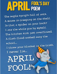 april fools day 2017 funny poem essay u0026 short speech the