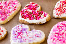 valentines cookies easy frosted cookies culinary hill