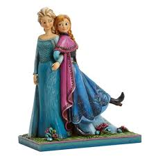 disney traditions frozen elsa anna musical statue enesco