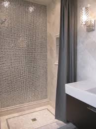 Marble Bathroom Tile Ideas Wow To Black White Bling In The Shower My Bathroom Pinterest