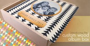 custom photo album new custom wood album box miller s professional imaging