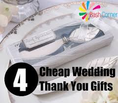 thank you wedding gifts how to select cheap wedding thank you gifts bash corner