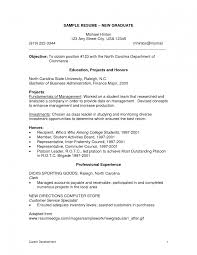 Best Resume For College Students surprising resume template for recent college graduate templates