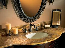 bathroom countertop buying guide hgtv