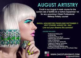 makeup artist courses become a makeup artist a chic chicstudios