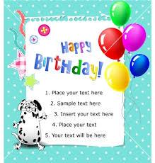 card invitation design ideas a happy birthday card rectangle